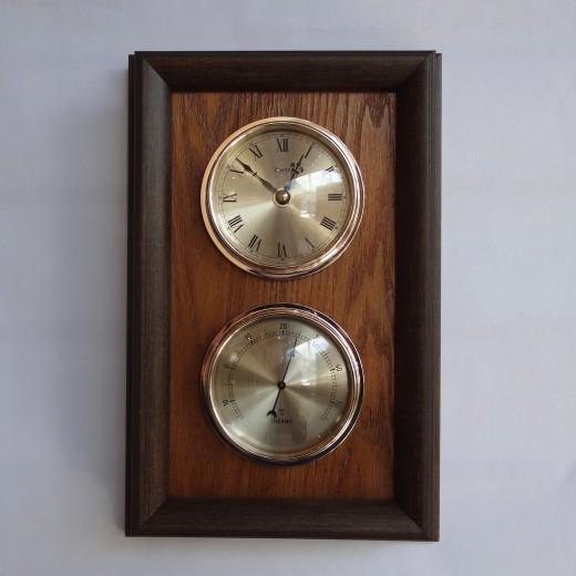 Настенные часы с термометром Opulent 06-10