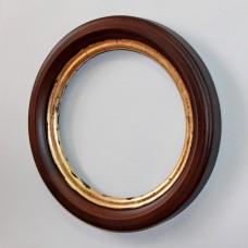 Круглая рамка для фото R03-01