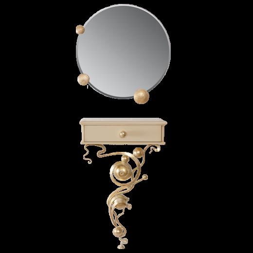 Консоль и зеркало Heri Айвори