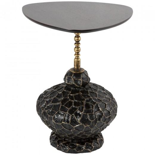 Декоративный столик Лебес Амбер Графит