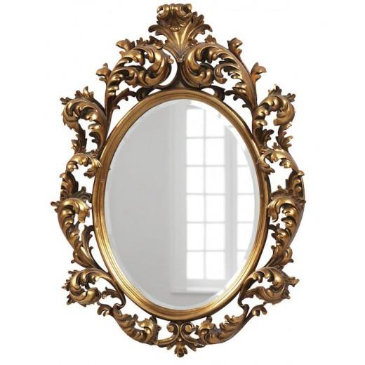 """Зеркало""""Овьедо""""(gold)"""