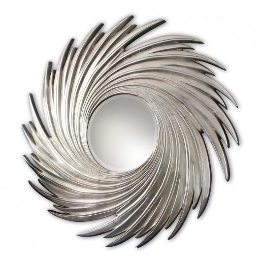 "Зеркало""Свирл""(silver)"